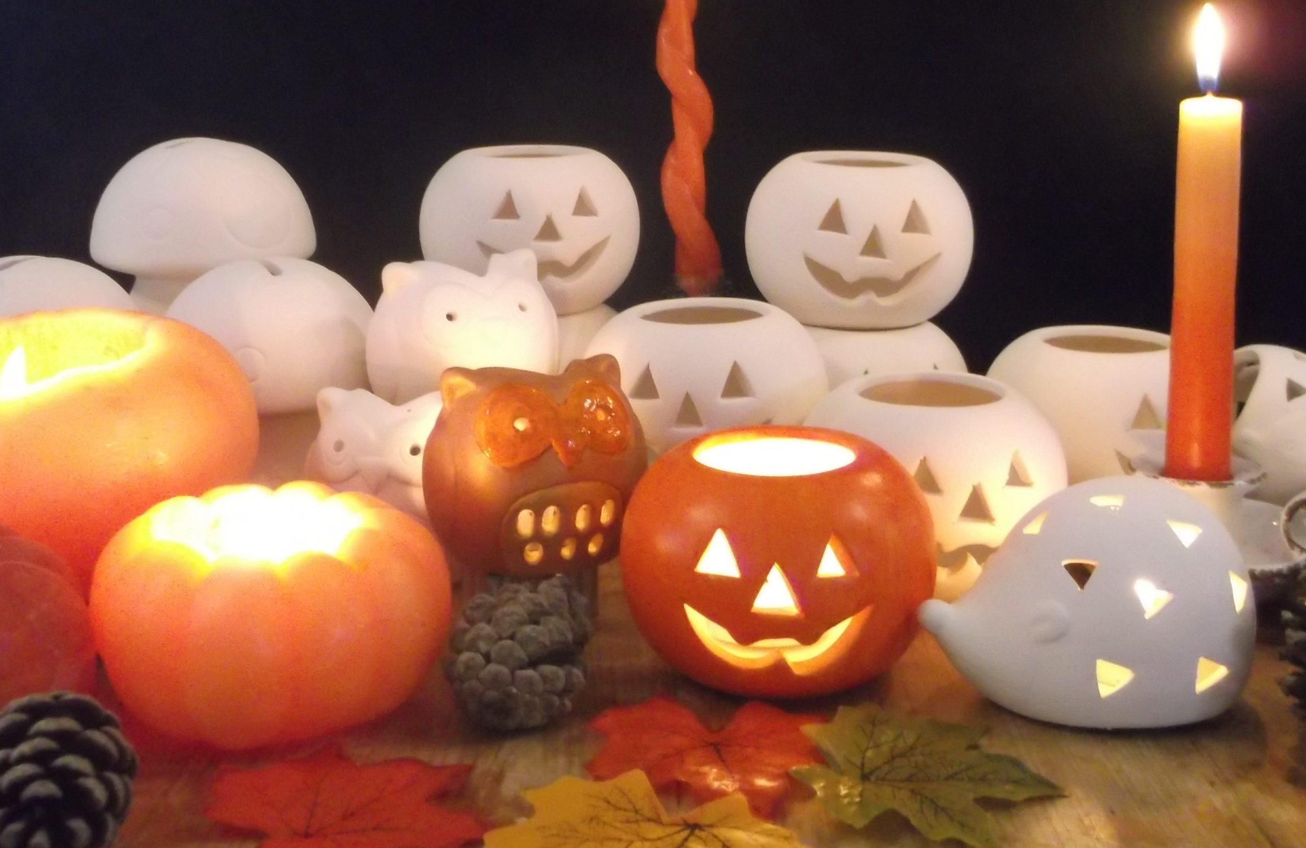 Halloween Crafting at The Candle Alchemist, Anglesey