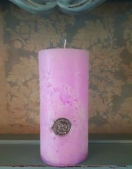 freesia scented candle
