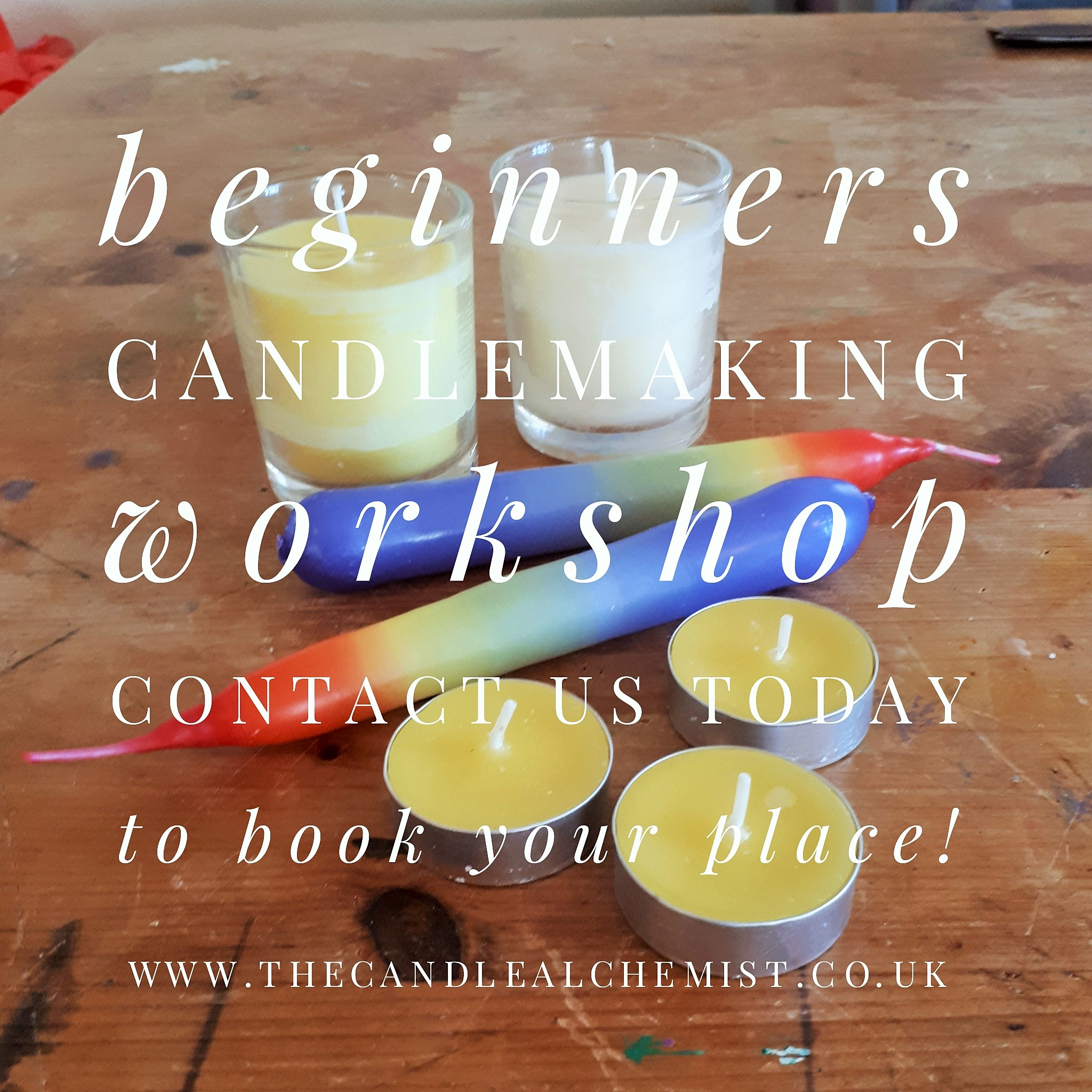 beginners candle workshop