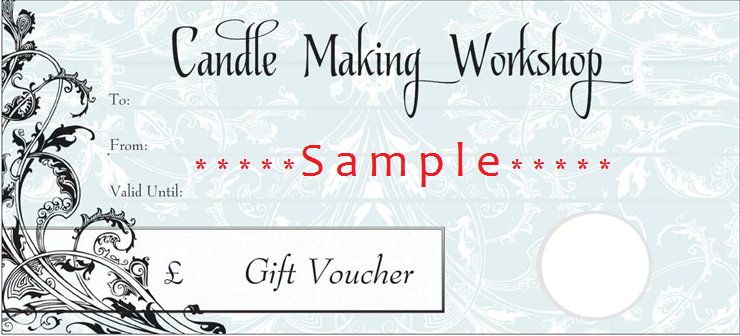 candlemaking gift voucher