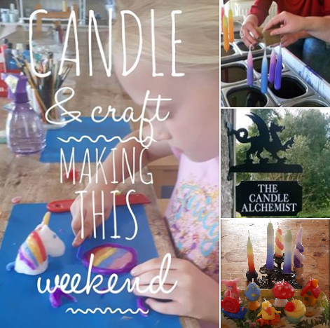 kids candle & craft activities