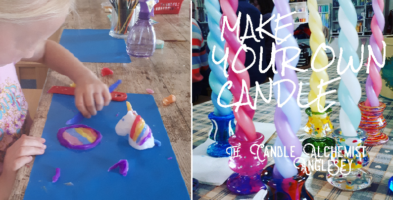 candle & craft activities Anglesey