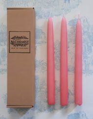 box of 3 taper candles - Anglesey