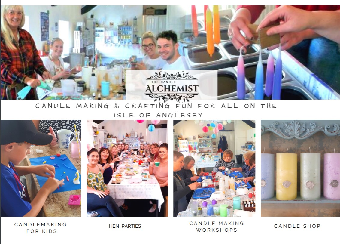 candle making workshops anglesey
