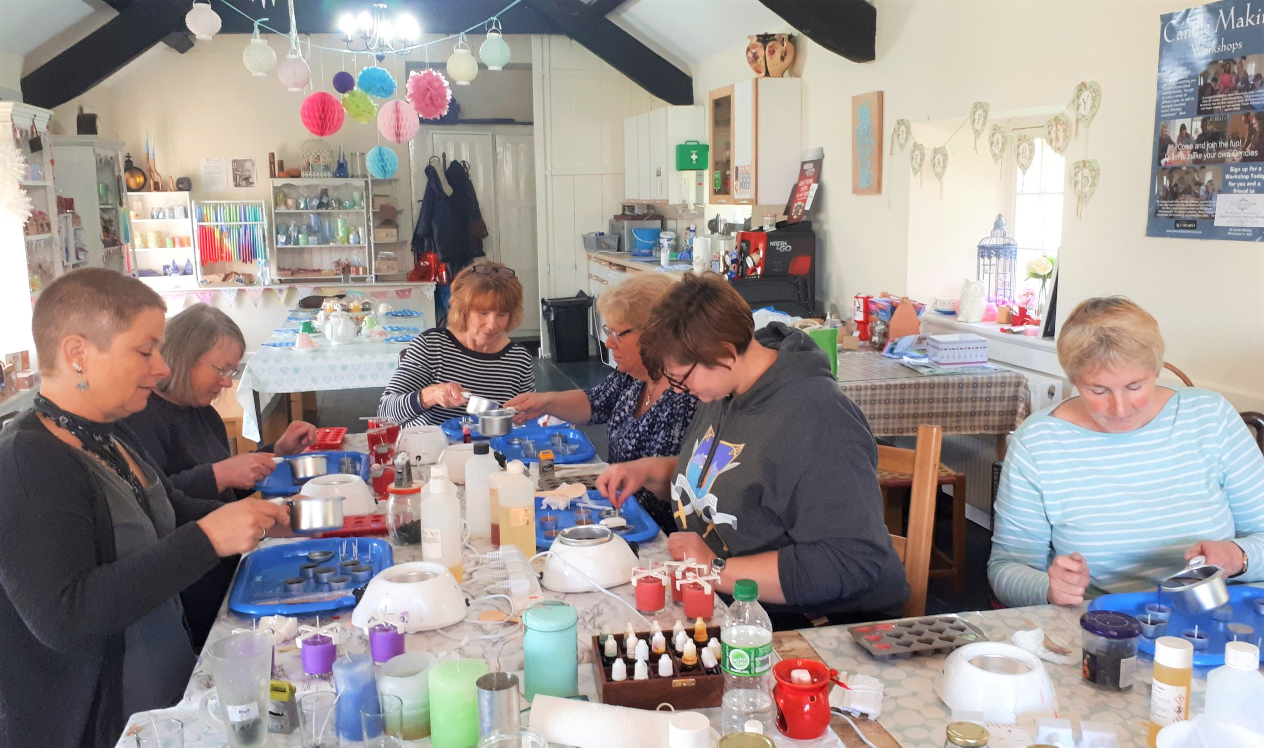 Beginners Candlemaking, Anglesey