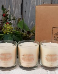 floral candle collection
