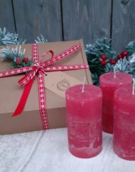 Hollyberry Candle Gift Set