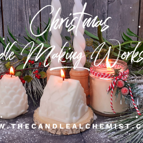 Christmas Candle Workshops, Anglesey